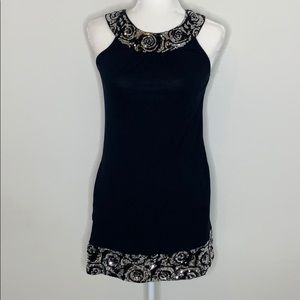 Express Sequin Tunic Dress